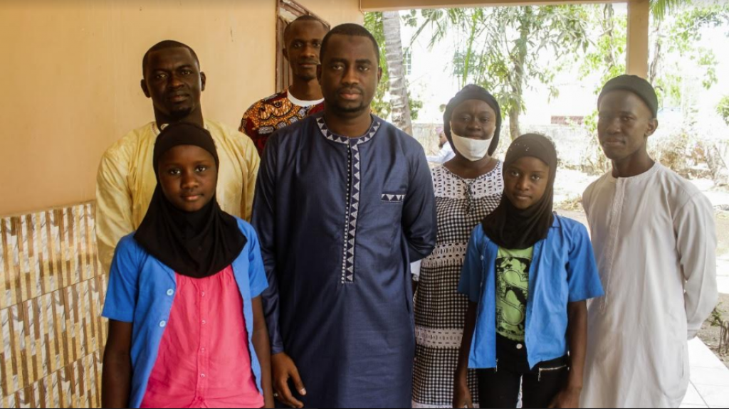 Ziguinchor : L'organisation caritative britannique «Penny Appeal Uk » abandonne ses  120 orphelins…