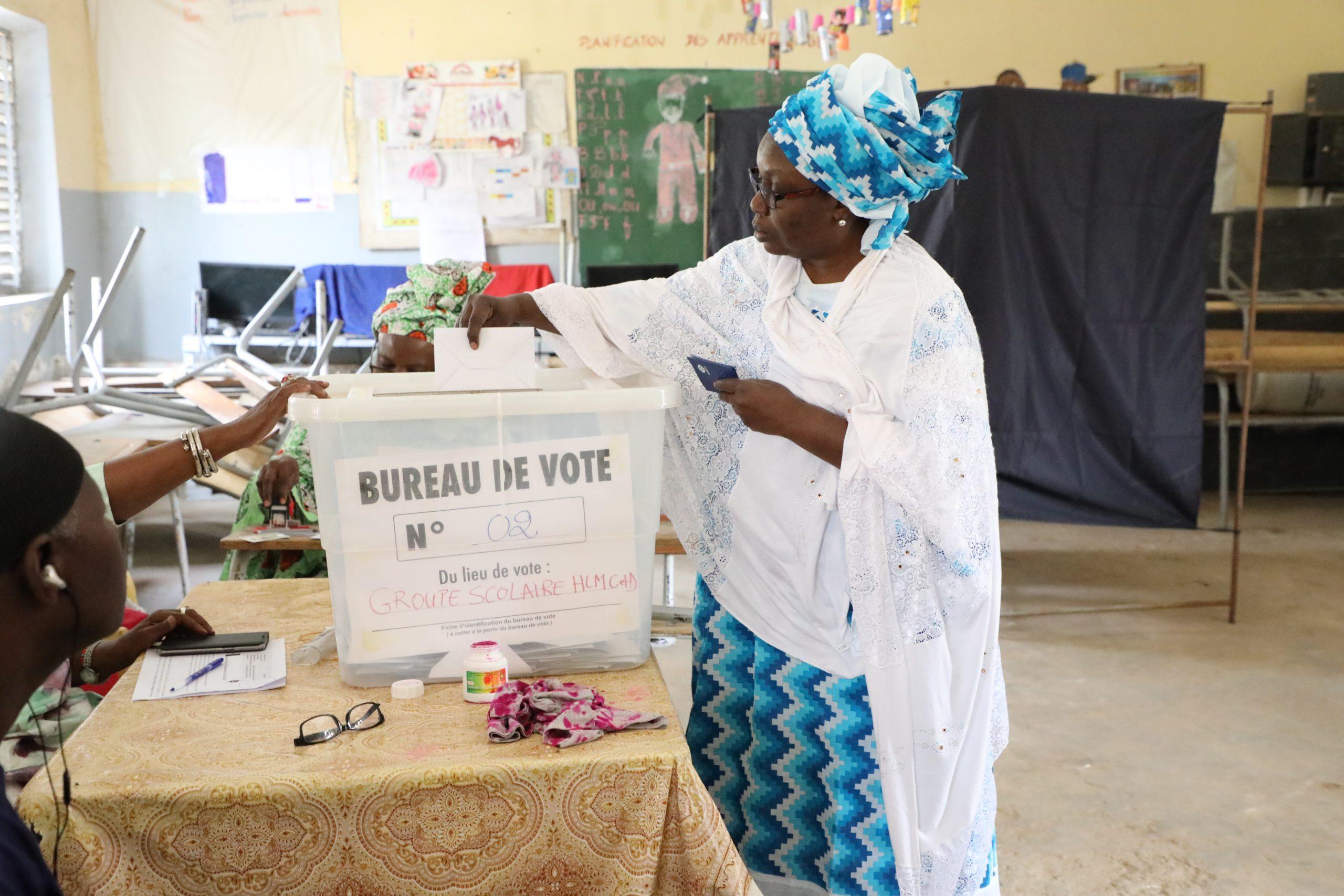 Fichier electoral :''L'opposition capricieuse et irresponsable''