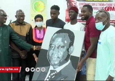 La presse culturelle rend hommage à Thione, son fils très touché