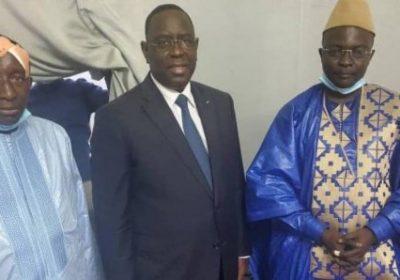 Abdoulaye Mbaye Pekh et Modou Bara Dolly reçus par Macky