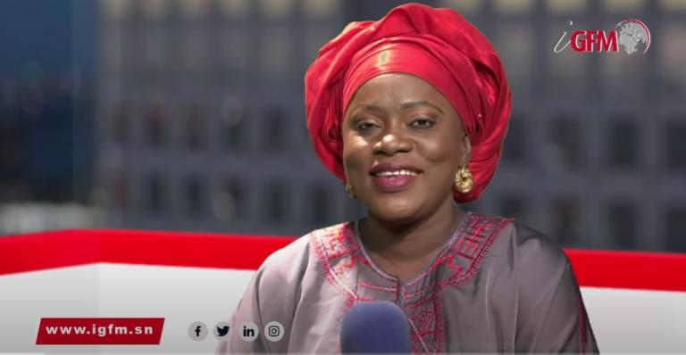 Fatou Kiné Dème, de championne d'athlétisme…au JT de la TFM