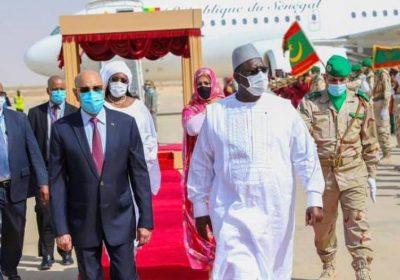 Macky Sall à Nouakchott, à bord du nouvel avion présidentiel