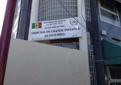 Cambriolage au Tribunal de Diourbel : Un Asp arrêté