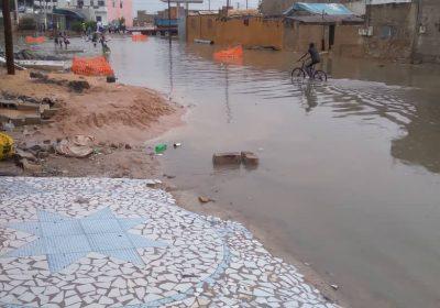 """Pluies diluviennes à Kaolack : Le quartier """"Abattoirs """" patauge …"""