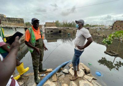 Inondations à Djiddah Thiaroye/Kao: Mamadou Libasse Basse (APR) tend la perche aux victimes et clashe le Maire libéral…