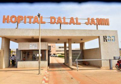 """Urgent-Hôpital """"Dalal Jam"""": des malades du Covid-19 troublés par les eaux de pluies…"""