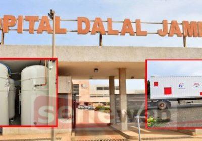 Fourniture en oxygène des Cte : Deux centrales de 40 m3 réceptionnées à Dalal Jamm