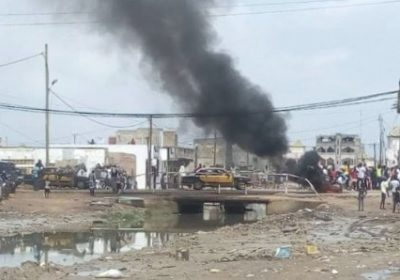 Kaolack : Pneus brûlés, routes barrées et des arrestations à Médina Mbaba