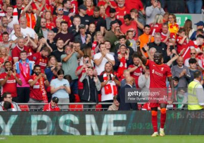 100e but de Sadio Mané sous le maillot de Liverpool