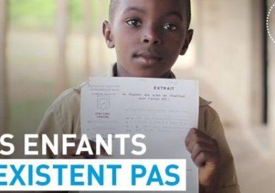 Non-déclaration à l'état civil : 230.000.000 d'enfants dans le monde et plus de 30% des enfants au Sénégal concernés