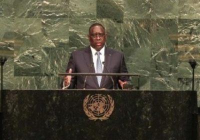 Assemblée générale ONU : Macky Sall plaide pour un État de paix, de sécurité et de stabilité