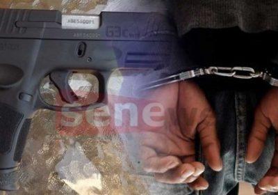 Dakar : un gambien tombe avec 1,6 kg de haschich et une arme automatique de calibre 8