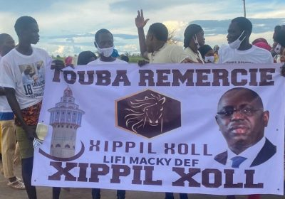 """Accueil de Macky à Touba : """"Xippil Xool Lifi Macky Déf"""" s'est remarquablement distinguée…"""