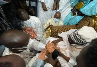 "Touba-Mohamed Ndiaye ""Rahma"" reçu par le Khalife Général des Mourides…"