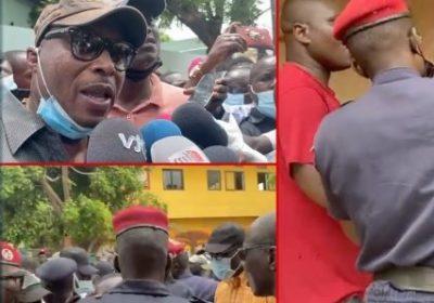 [Vidéo] Grand-Dakar : ça a chauffé entre Barth et la police