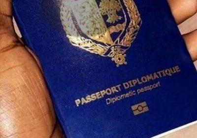 """Passeports diplomatiques : L'énorme découverte de """"fantômes"""" par la DIC"""
