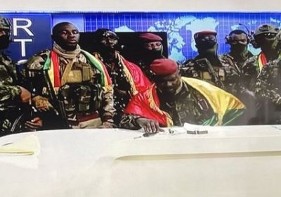 """[Vidéo] Colonel Doumbouya : """"Nous avons plus besoin de violer La Guinée mais de lui faire l'amour tout simplement"""""""
