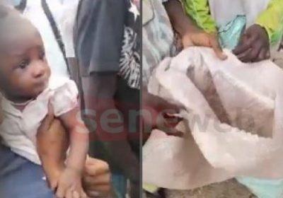 Pikine : Un bébé 7 mois retrouvé vivant dans un camion-poubelle