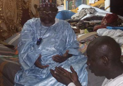 Gamou 2021: L'honorable député Abdoulaye Vilane reçu par les dignitaires de Médina Baye ( Kaolack)…
